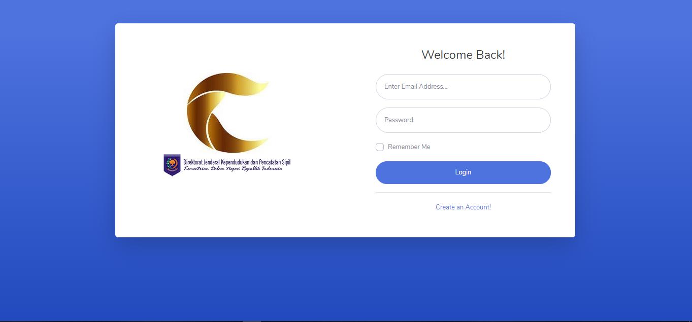 Website Dukcapil